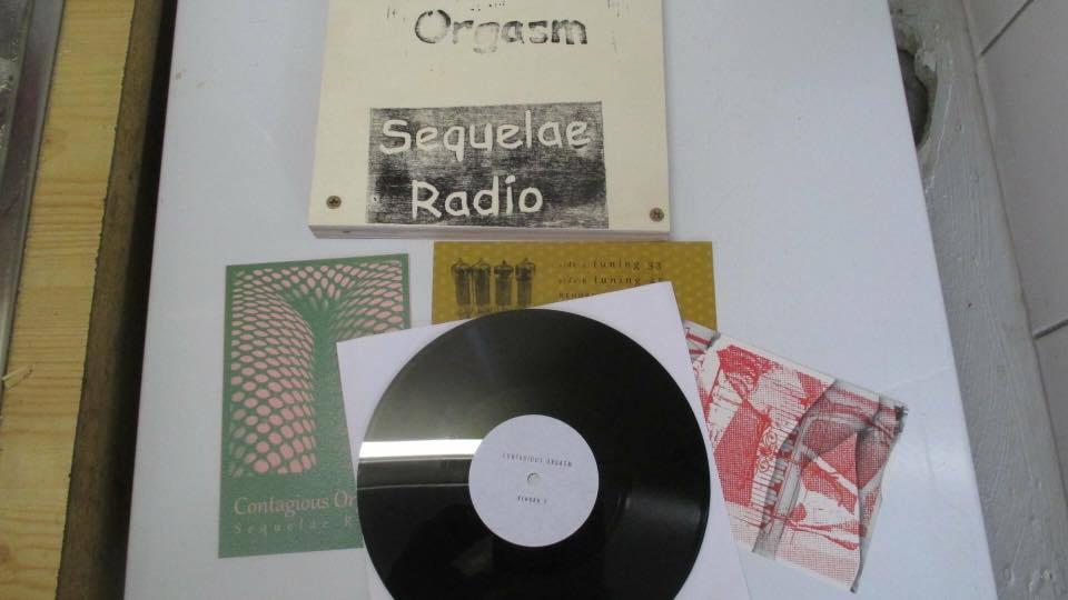 Contagious Orgasm - Sequelae Radio  8インチ Lathe Cut - 画像2