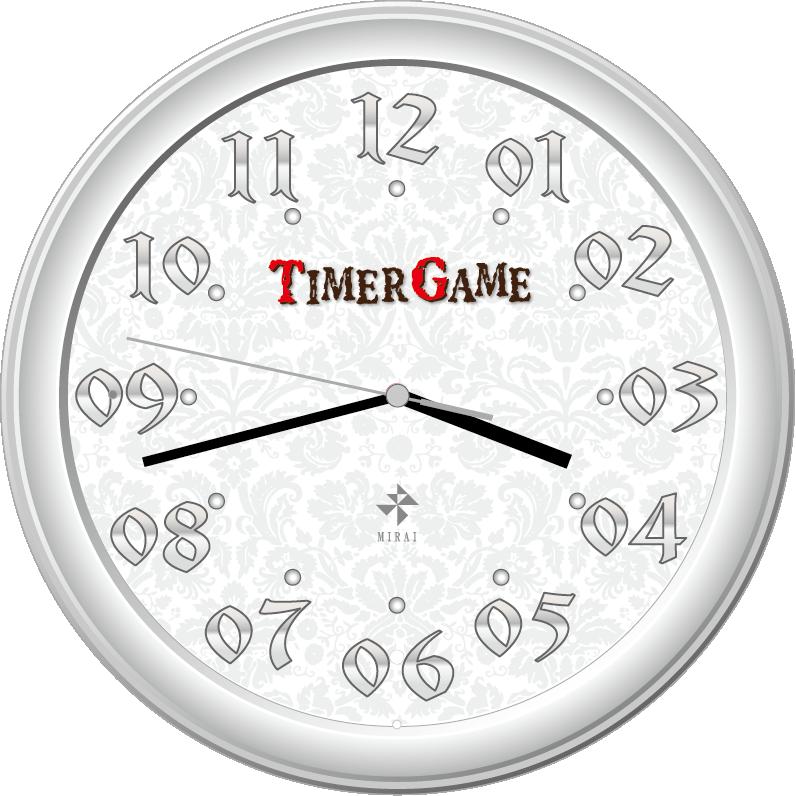 時間を楽しむ timer game 逆転電波掛け時計 逆転時計のお店 時ハ楽