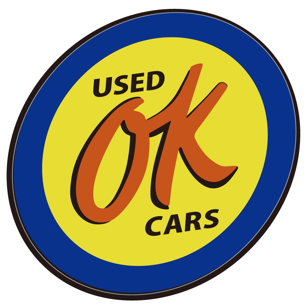 "119 USED CARS OK #1 ""California Market Center"" アメリカンステッカー スーツケース シール"