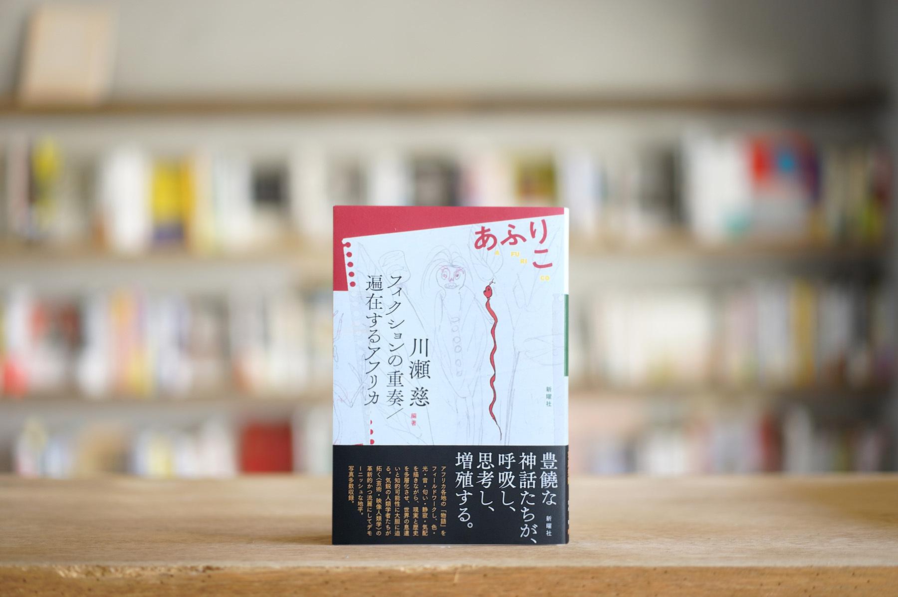 編著:川瀬慈 『あふりこ フィクションの重奏/偏在するアフリカ』 (新曜社、2019)