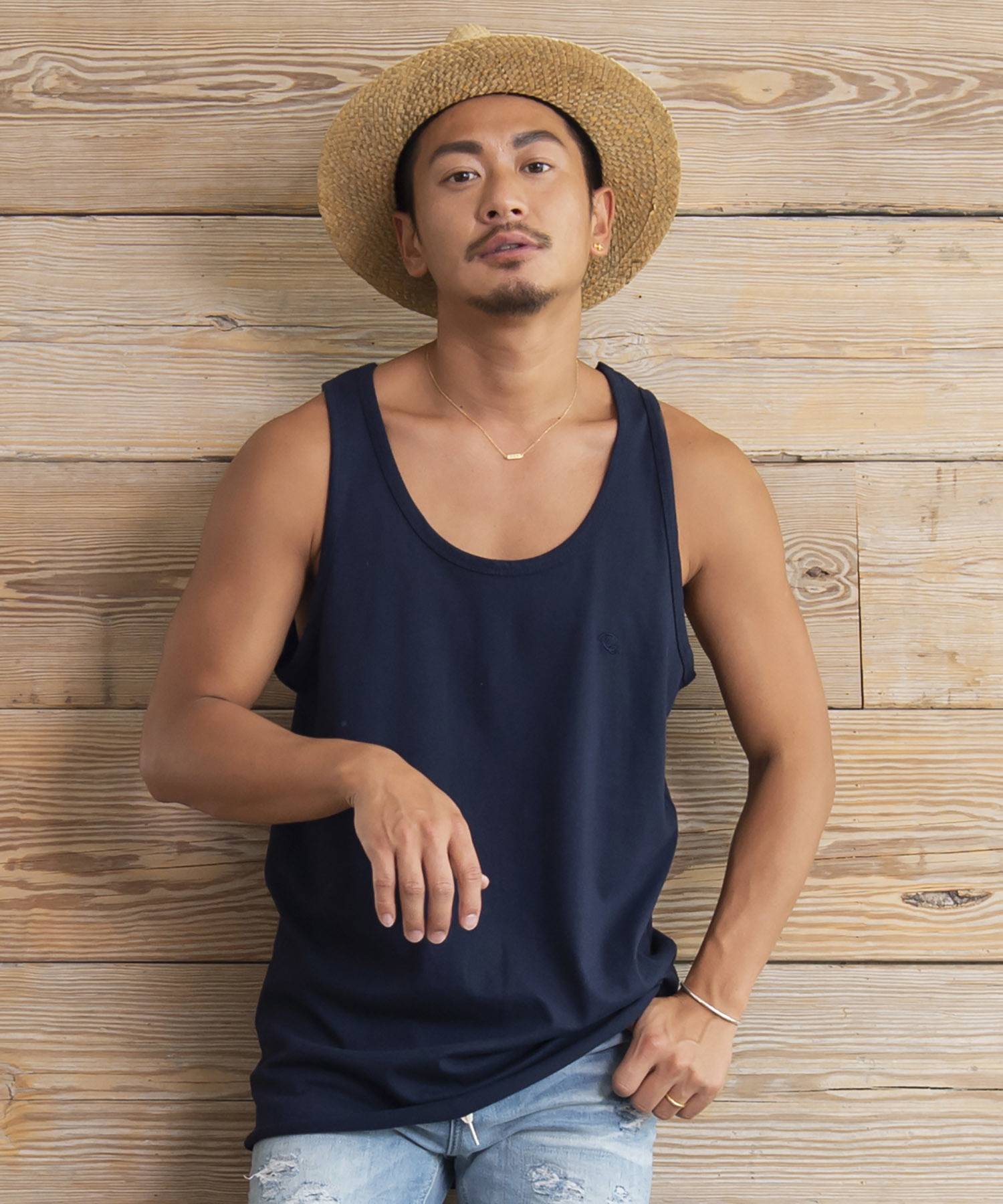 Re: ONE POINT TANK TOP[REC205]