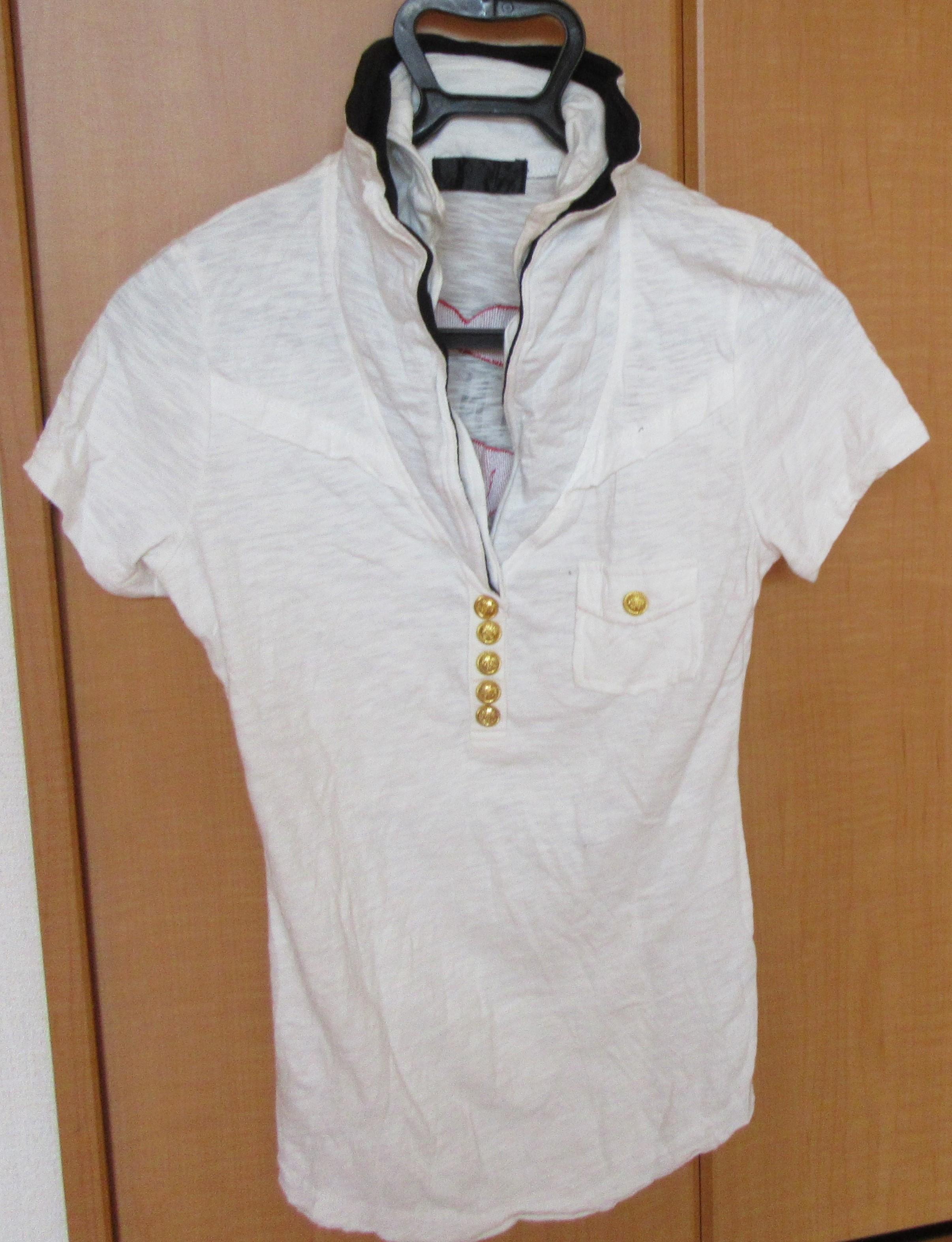 ポロシャツ ドクロ Sサイズ 古着