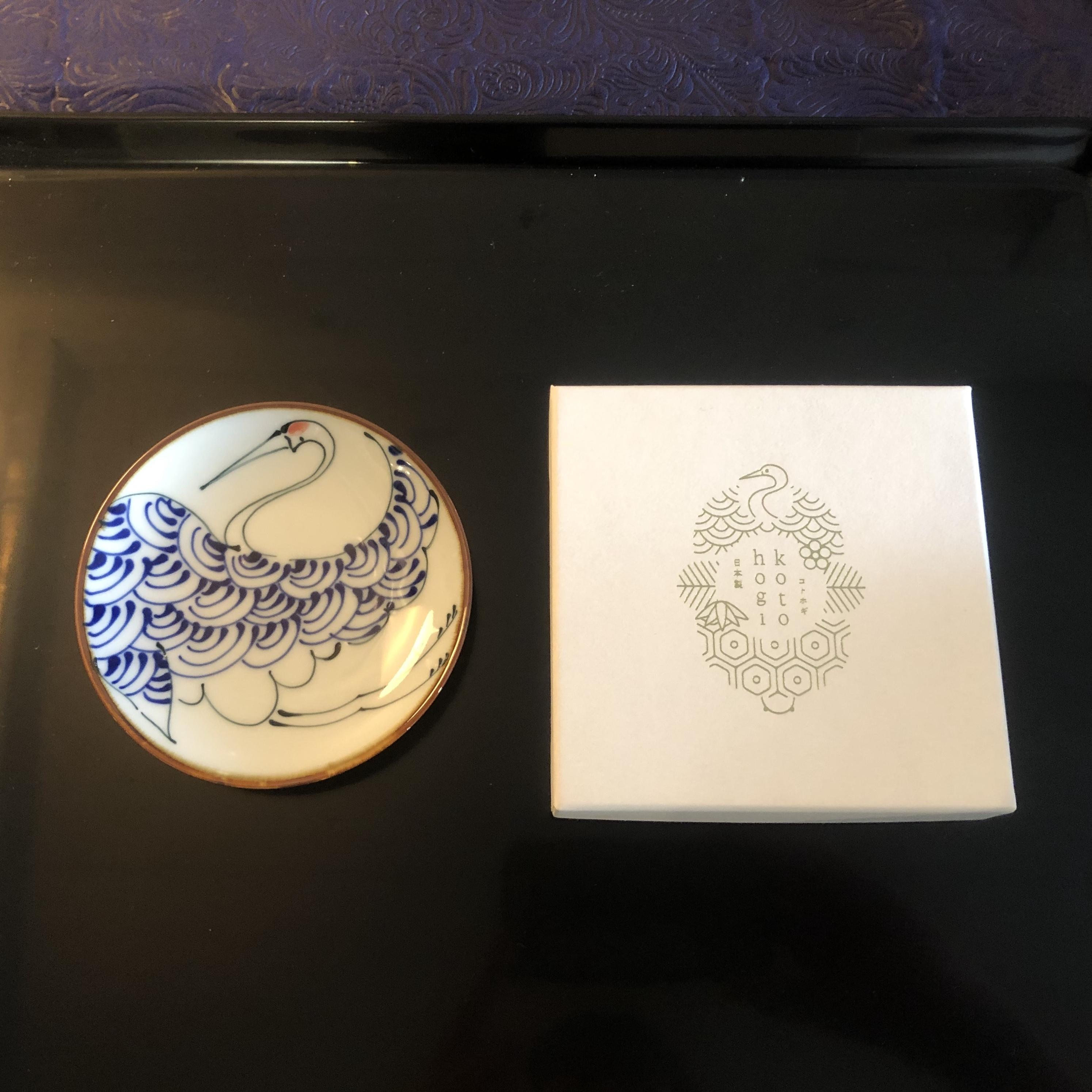 波佐見焼 kotohogi 鶴