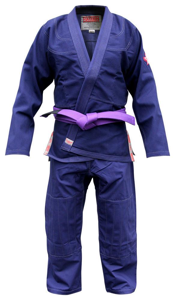 【送料無料】BJJ Kimono - Kaizen Athletic ネイビー 【ブラジリアン柔術道衣・柔術道着】