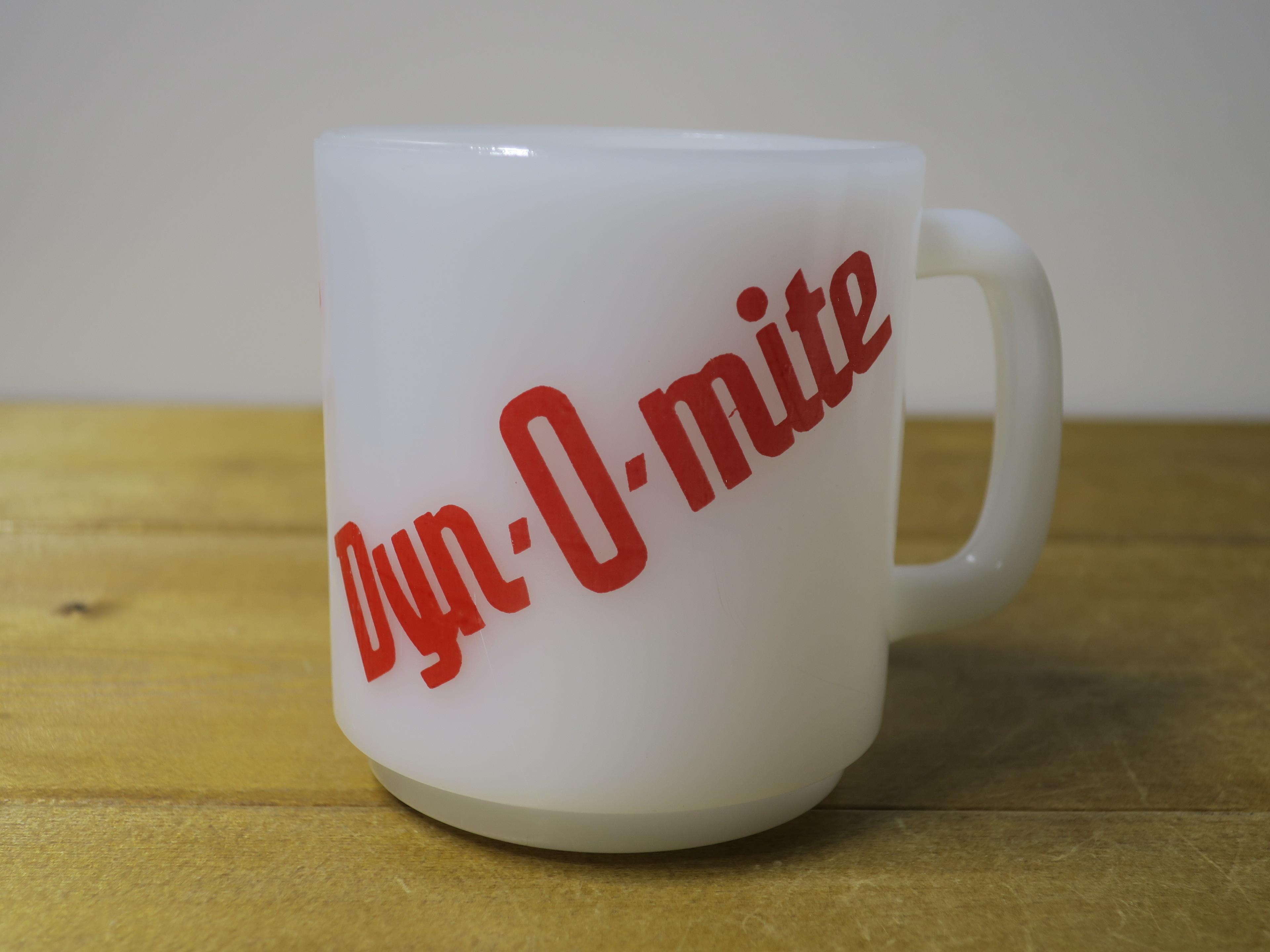 Glasbake スタッキングマグ Dyn-O-mite