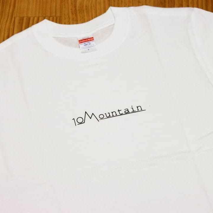 10Mountain シンプルロゴ ホワイト