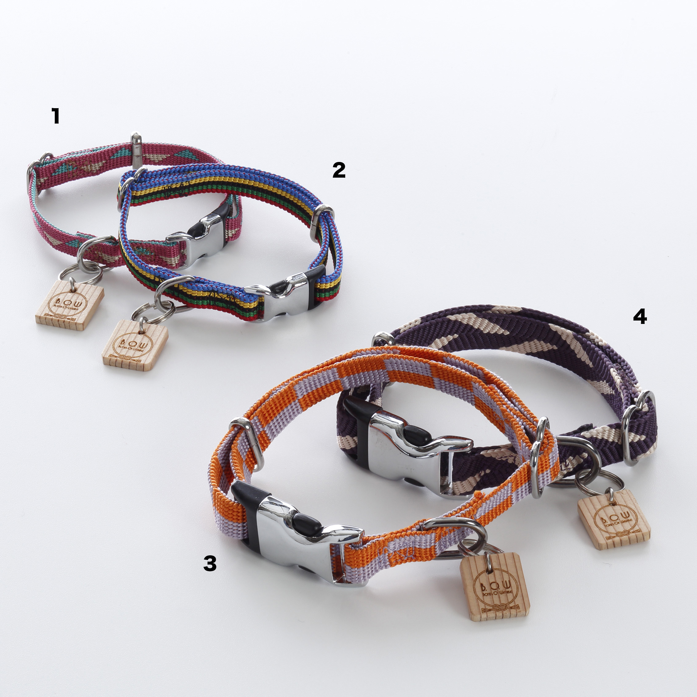 ペット用組紐カラー 首輪