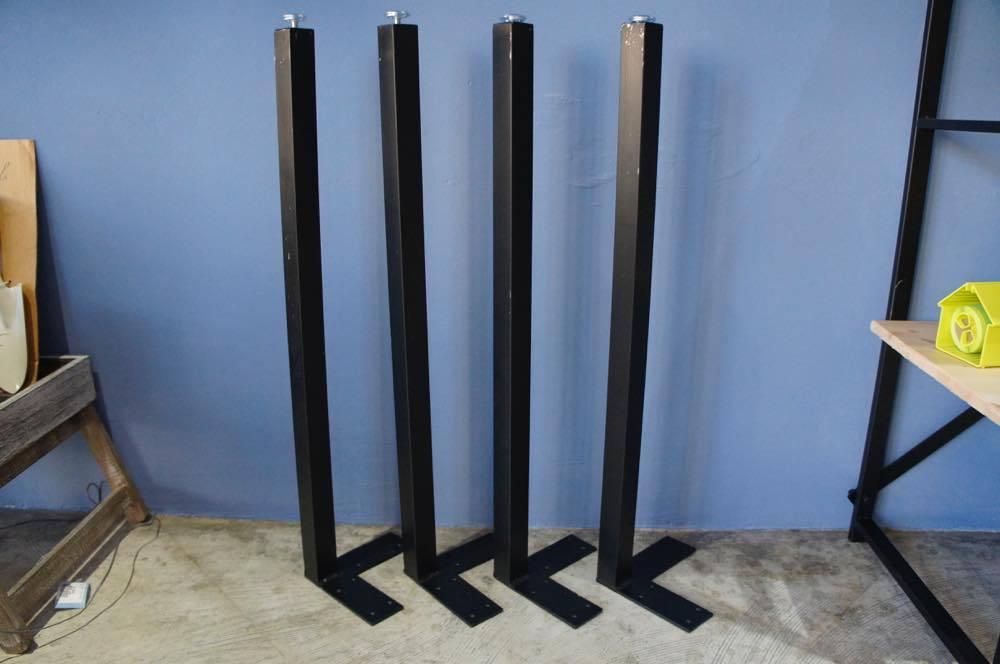 32角鉄脚/4本1セット/H675(屋内使用)