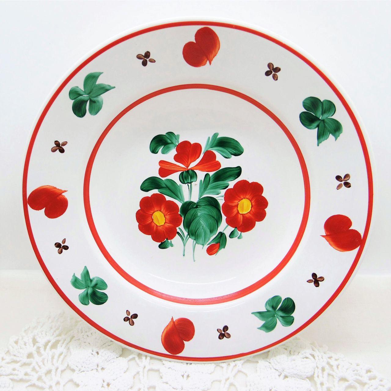ハンガリーの飾り皿 ハンドペイント深皿①