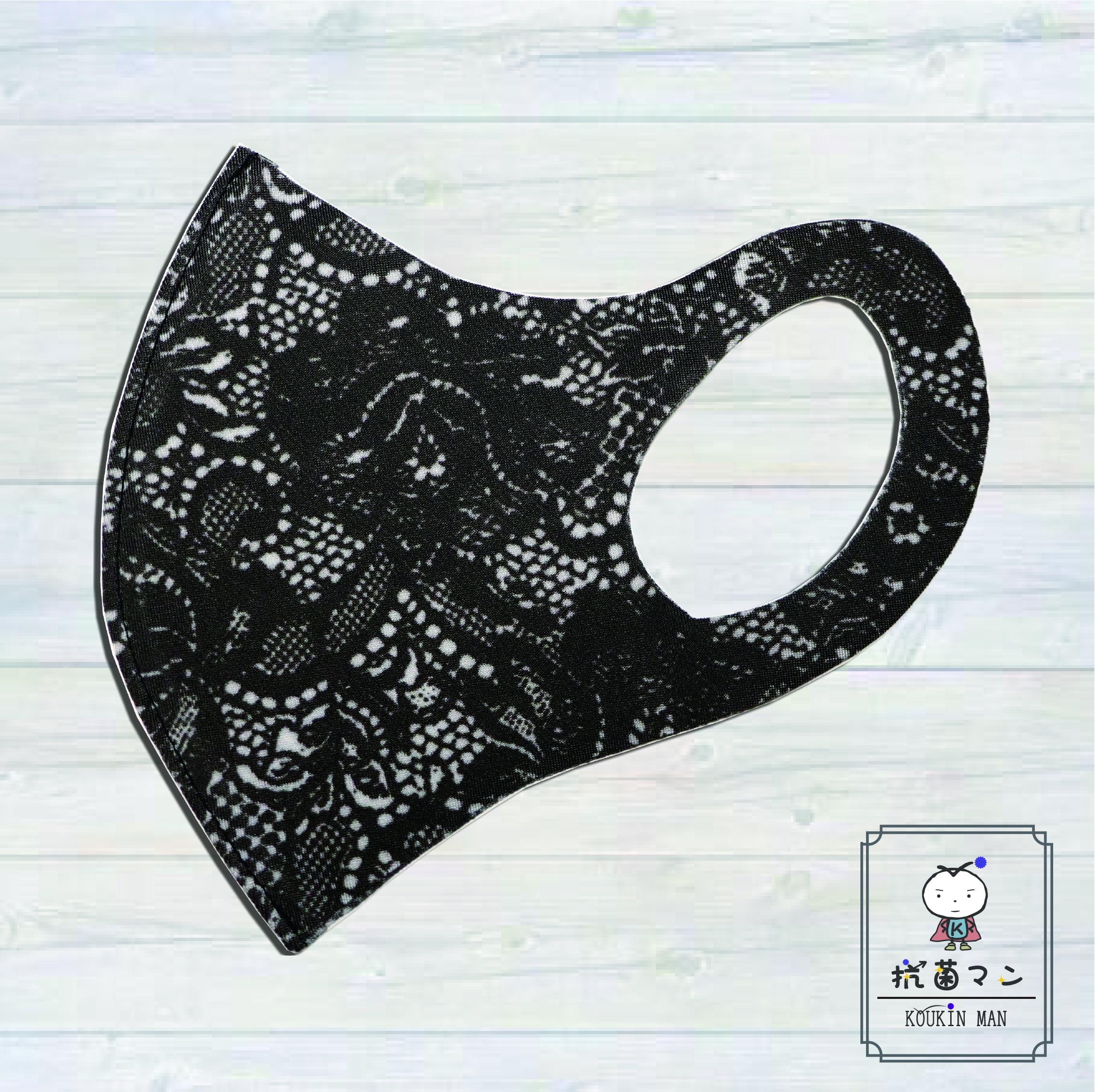 3Dレースプリントマスク