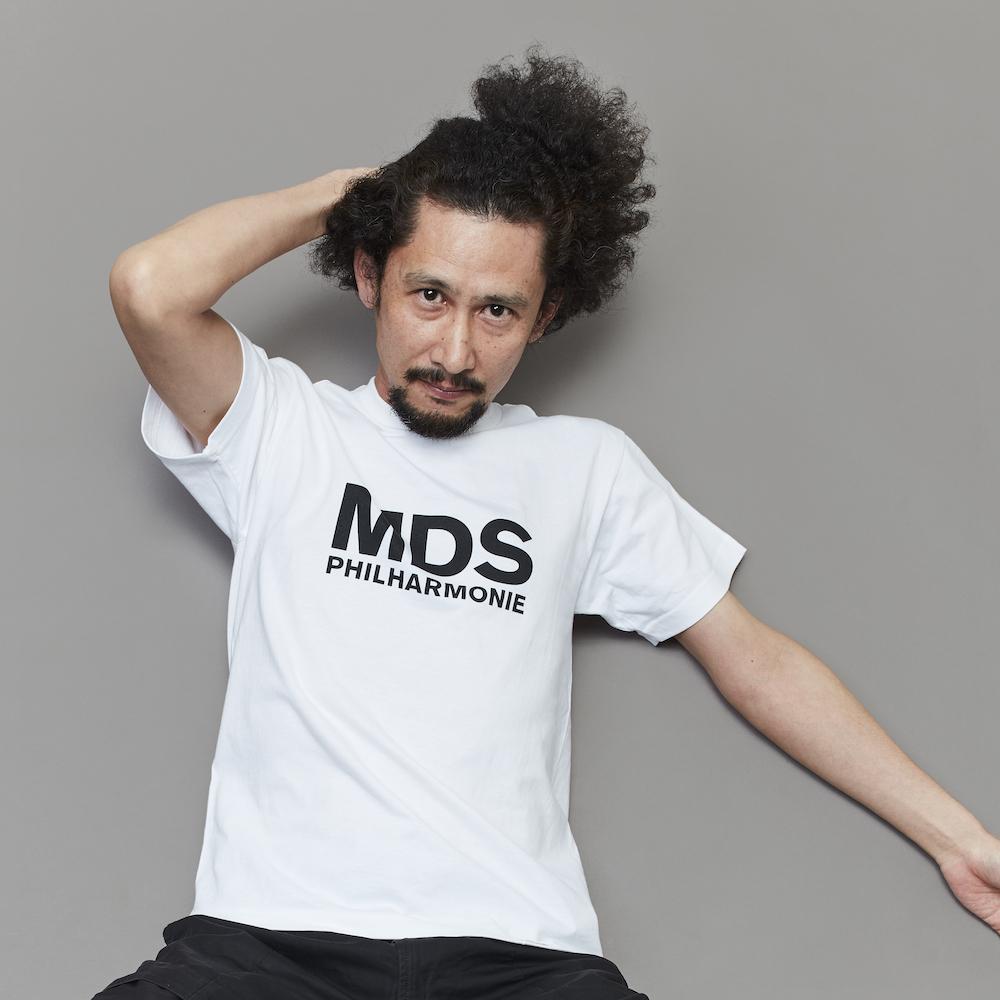 MDSロゴTシャツ