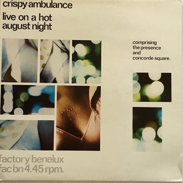 【12inch・英盤】Crispy Ambulance / Live On a Hot August Night