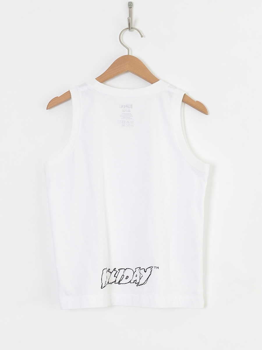 【HOLIDAY】SUPER FINE TANK TOP(BACK HOLIDAY)