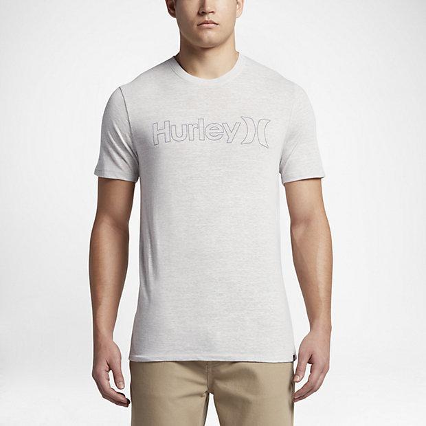 HURLEY Tシャツ GRAY