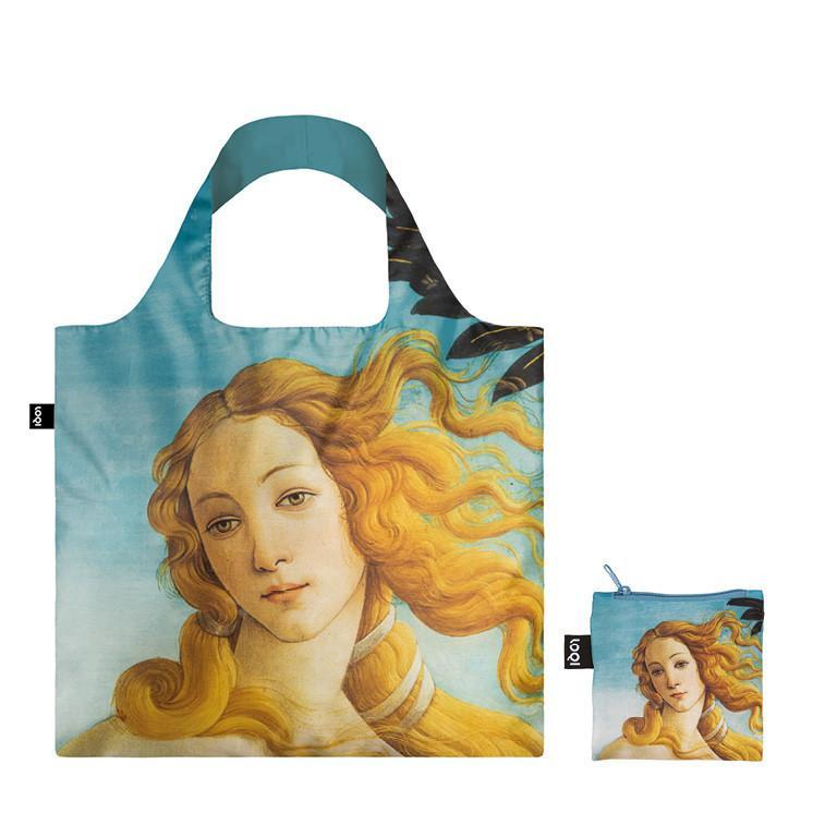 LOQI エコバック BOTTICELLI The Birth of Venus, 1484-86 Bag