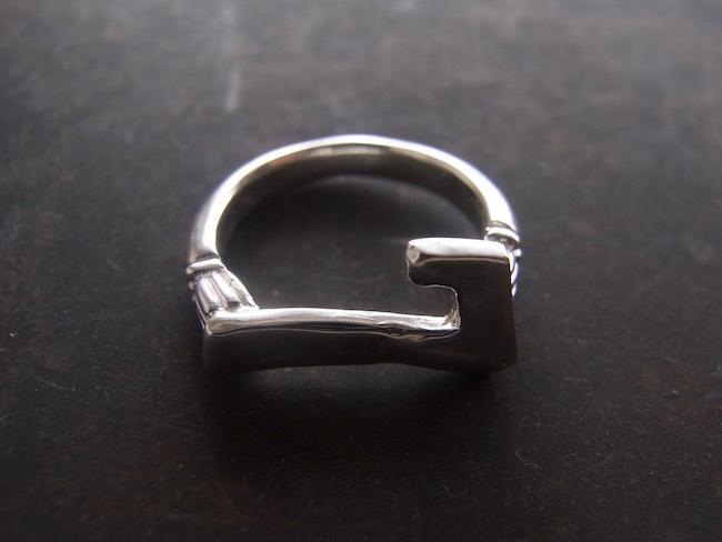Numero Pinky Ring/数字7のピンキーリング/S