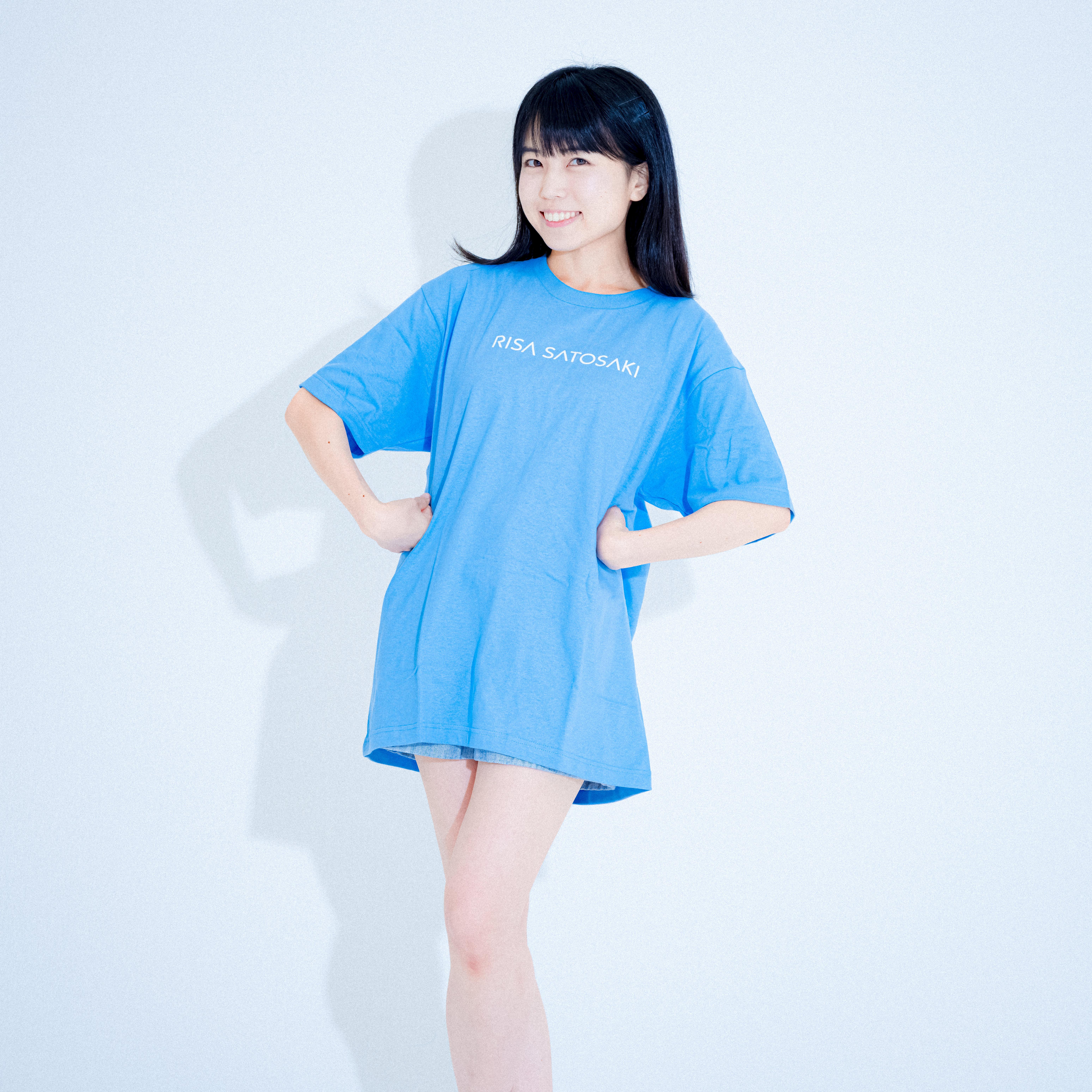 【Tシャツ】Risa Satosaki LogoT