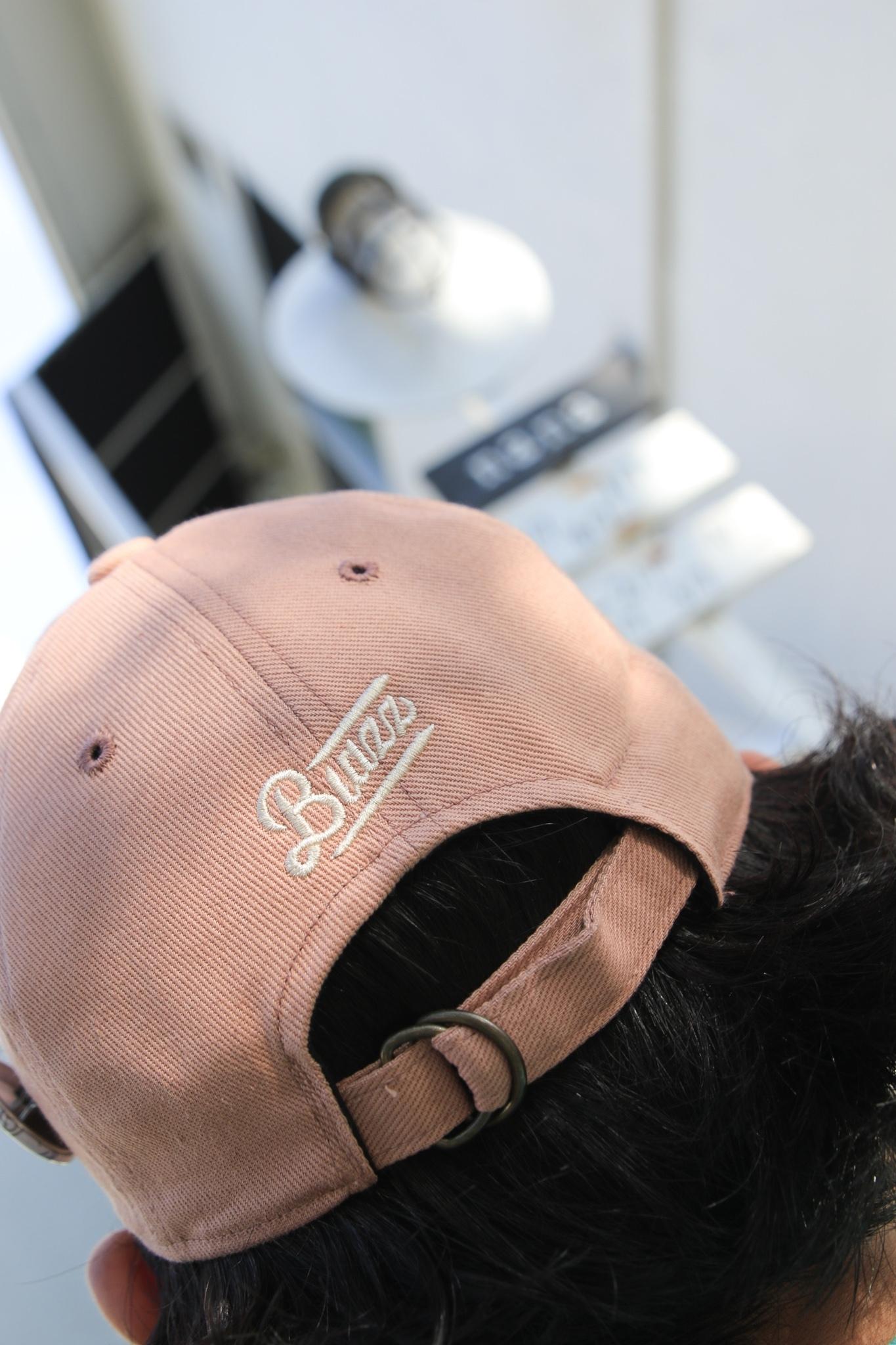 LONG BILL CAP [CORAL PINK]