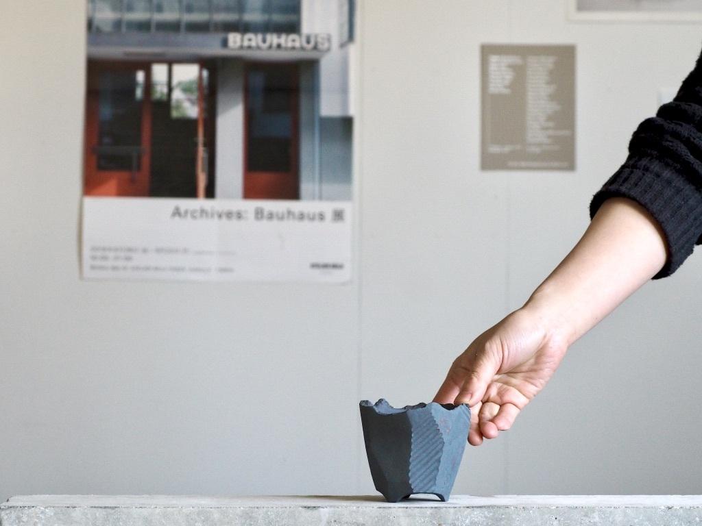澪標  /  XS / Bonsai Pot [ 紅富士 ] No,0214