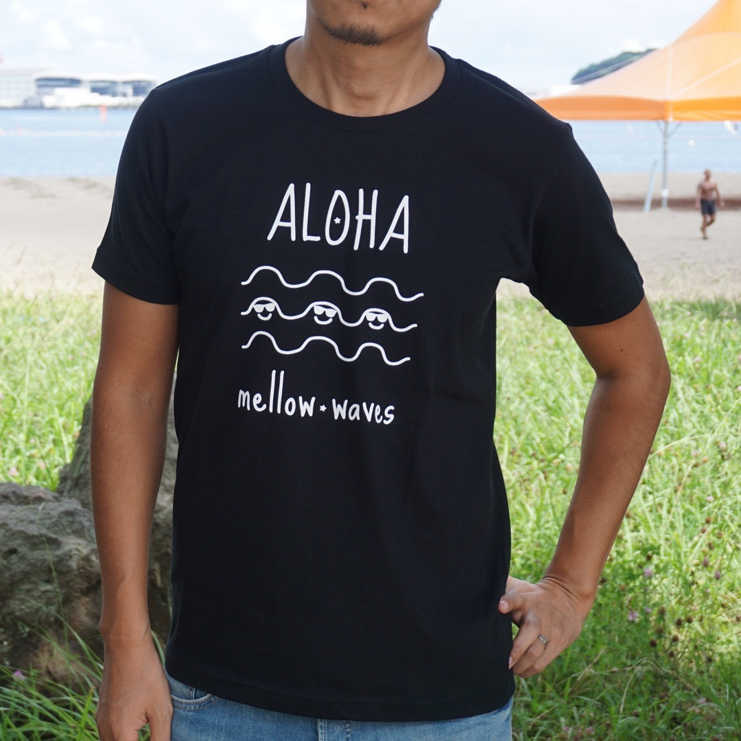 ALOHA mellow waves Tee