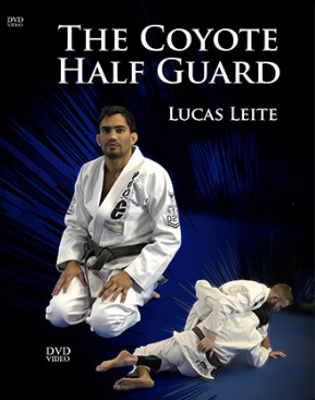 【お取り寄せ中です】ルーカス・レイチ  ザ・コヨーテハーフガード 4枚組DVDセット|ブラジリアン柔術教則DVD
