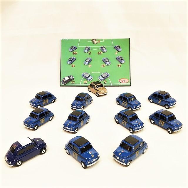 Fiat nuova 500 EXPO Campioni del Mondo 2006 12 pezzi 1/43【brumm】【1個のみ】【税込価格】