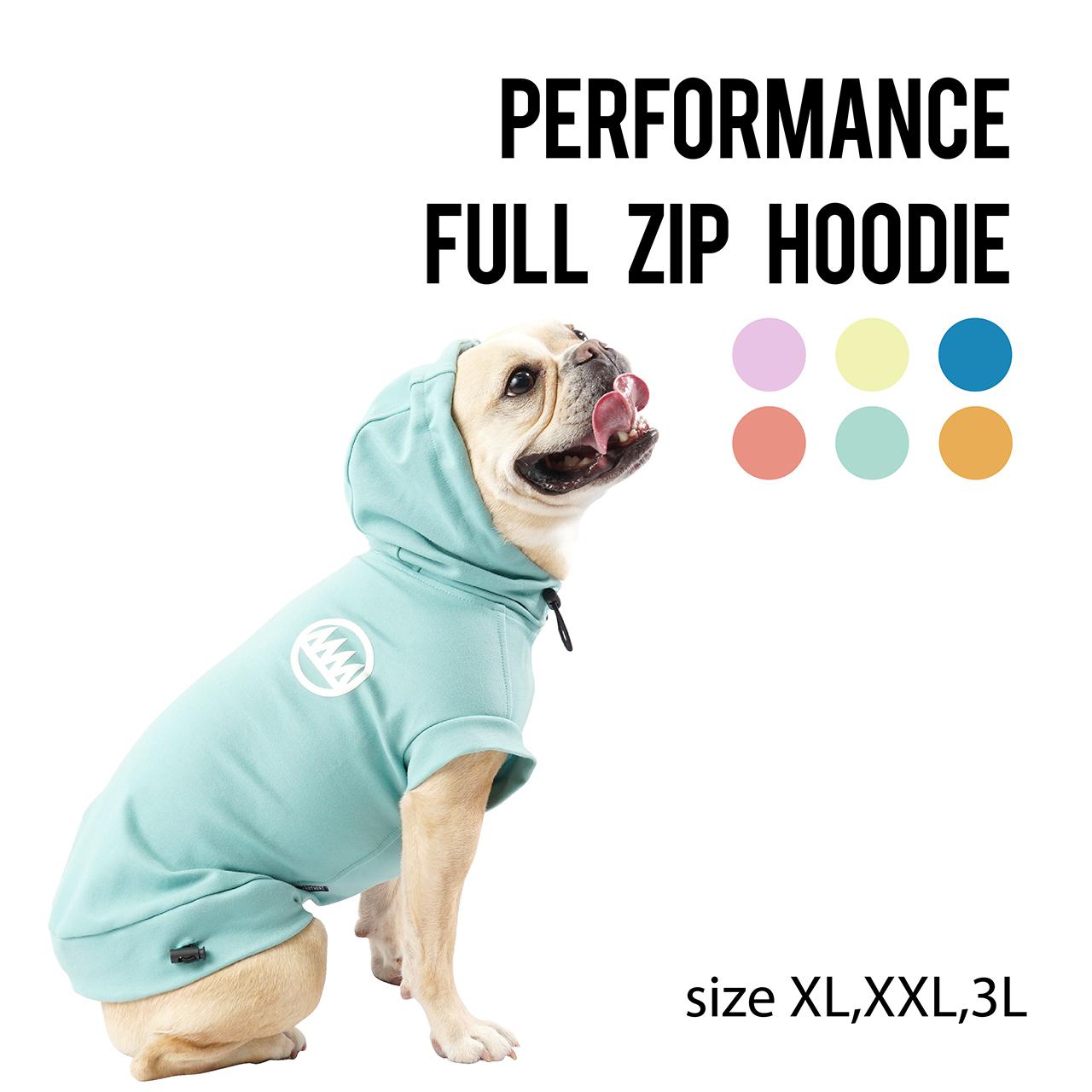 PERFORMANCE FULL ZIP HOODIE(XL~3L) パフォーマンスフルジップフーディ