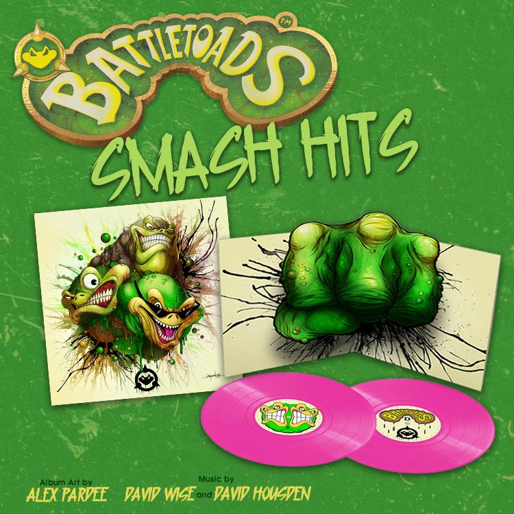 BATTLETOADS : SMASH HITS 2XLP【アナログレコード】 / iam8bit