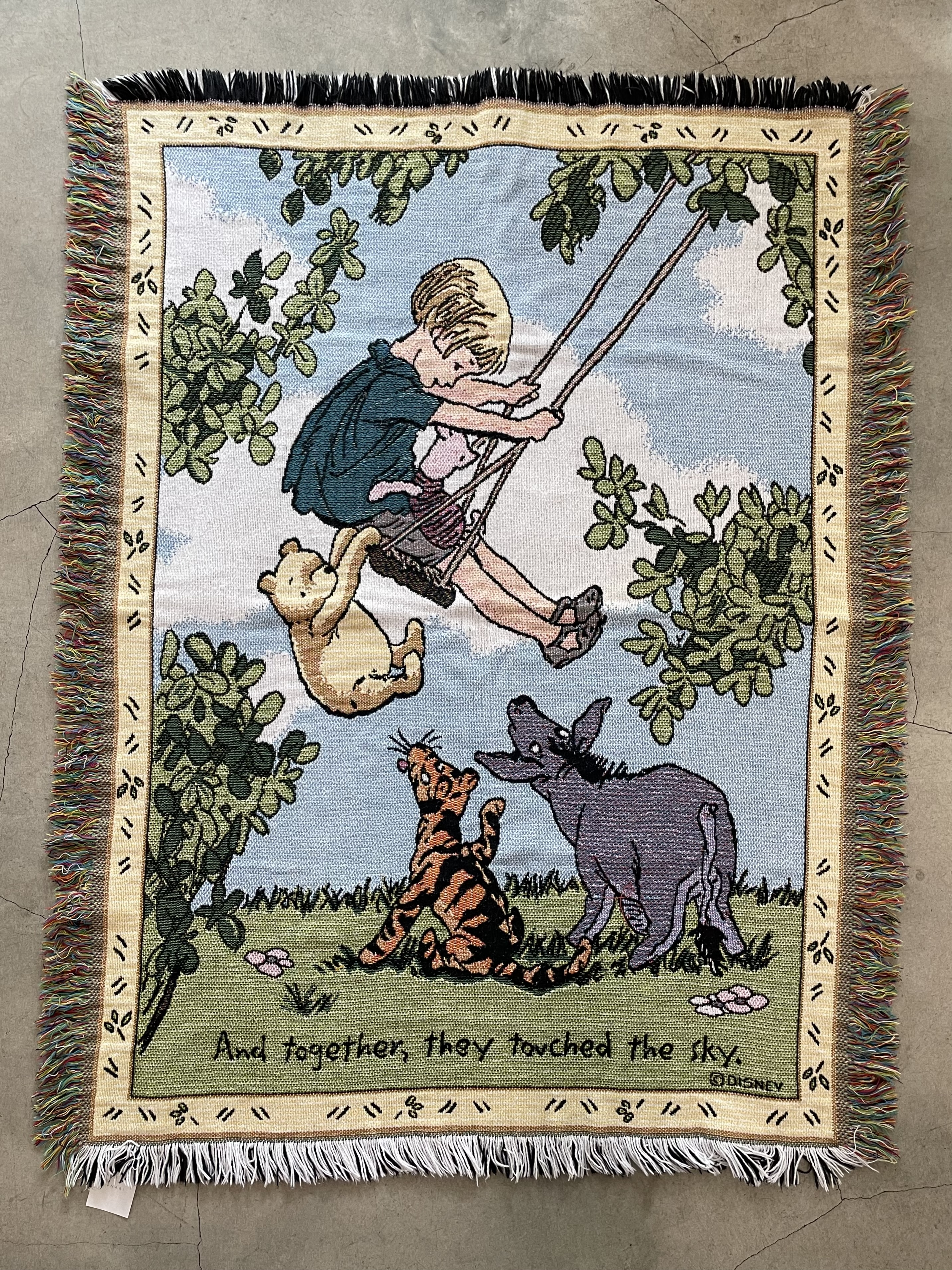 """made in U.S.A. """"classic POOH"""" vintage rag"""