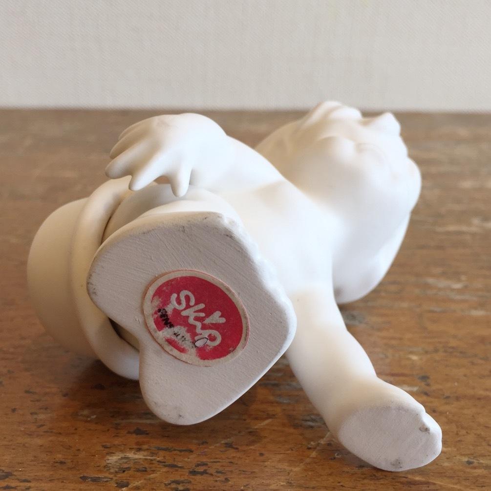 SKIP陶器人形 おふろ