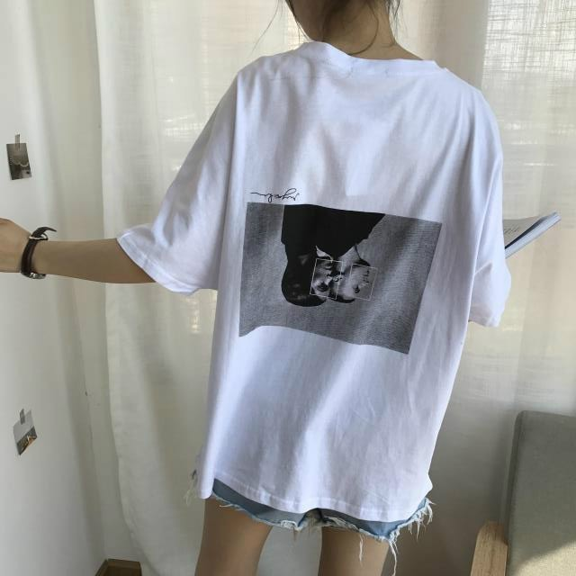 【お得な販売999円セール】【tops】シンプル原宿風BF風ゆったり感ファッションTシャツ18122329