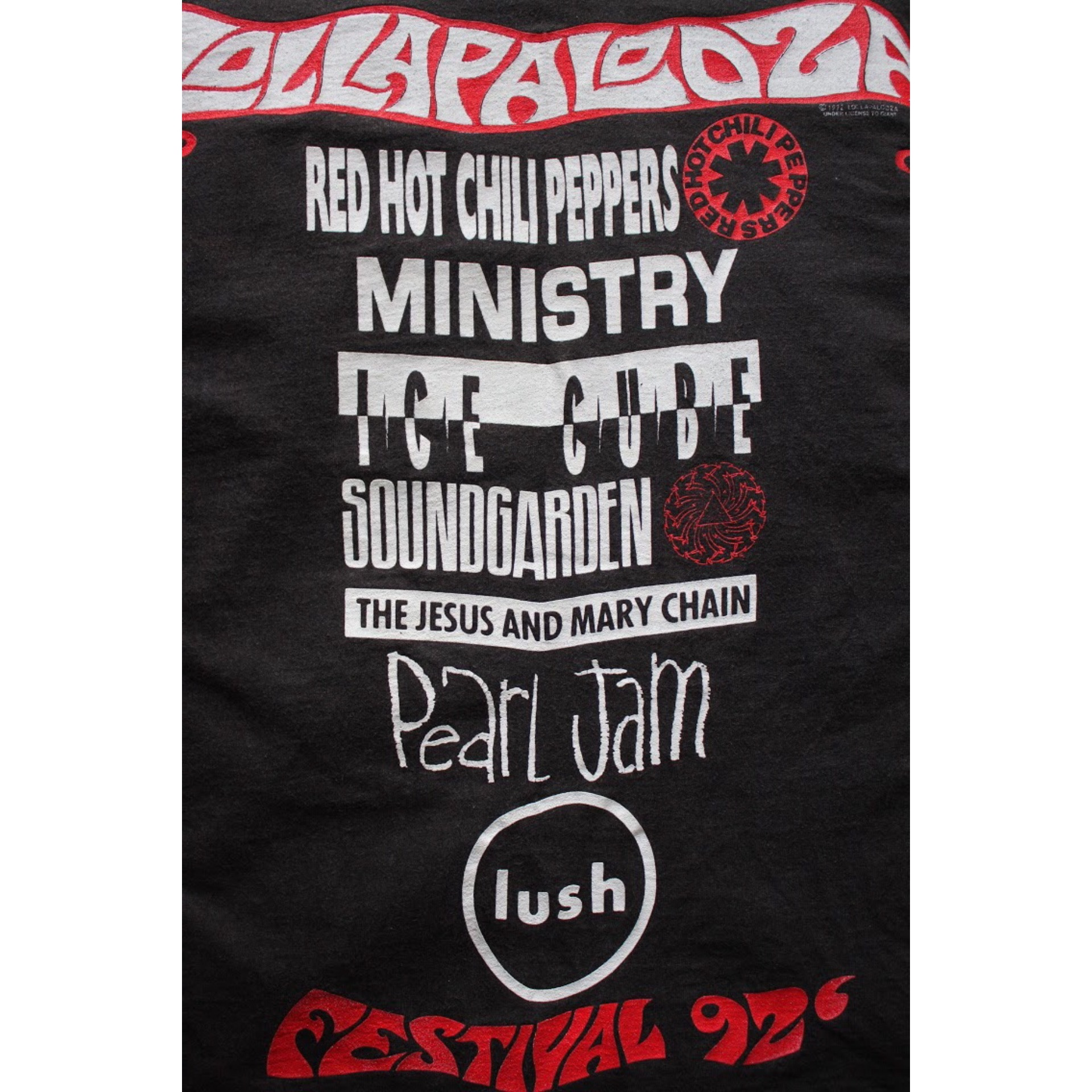 Vintage Lollapalooza Festival 92 t shirt