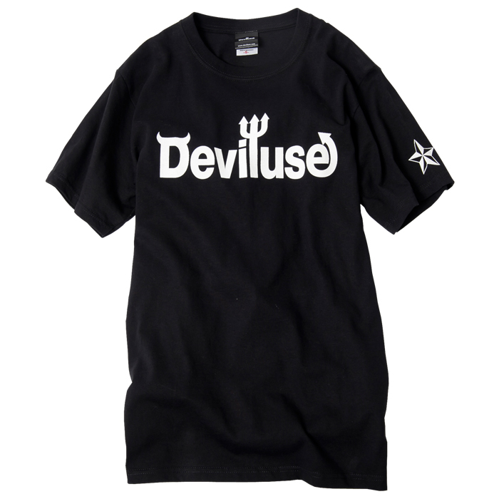 Deviluse(デビルユース) | Logo T-shirst (Black)