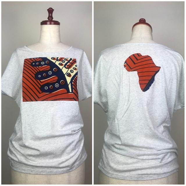 パッチワークドルマンTシャツ04