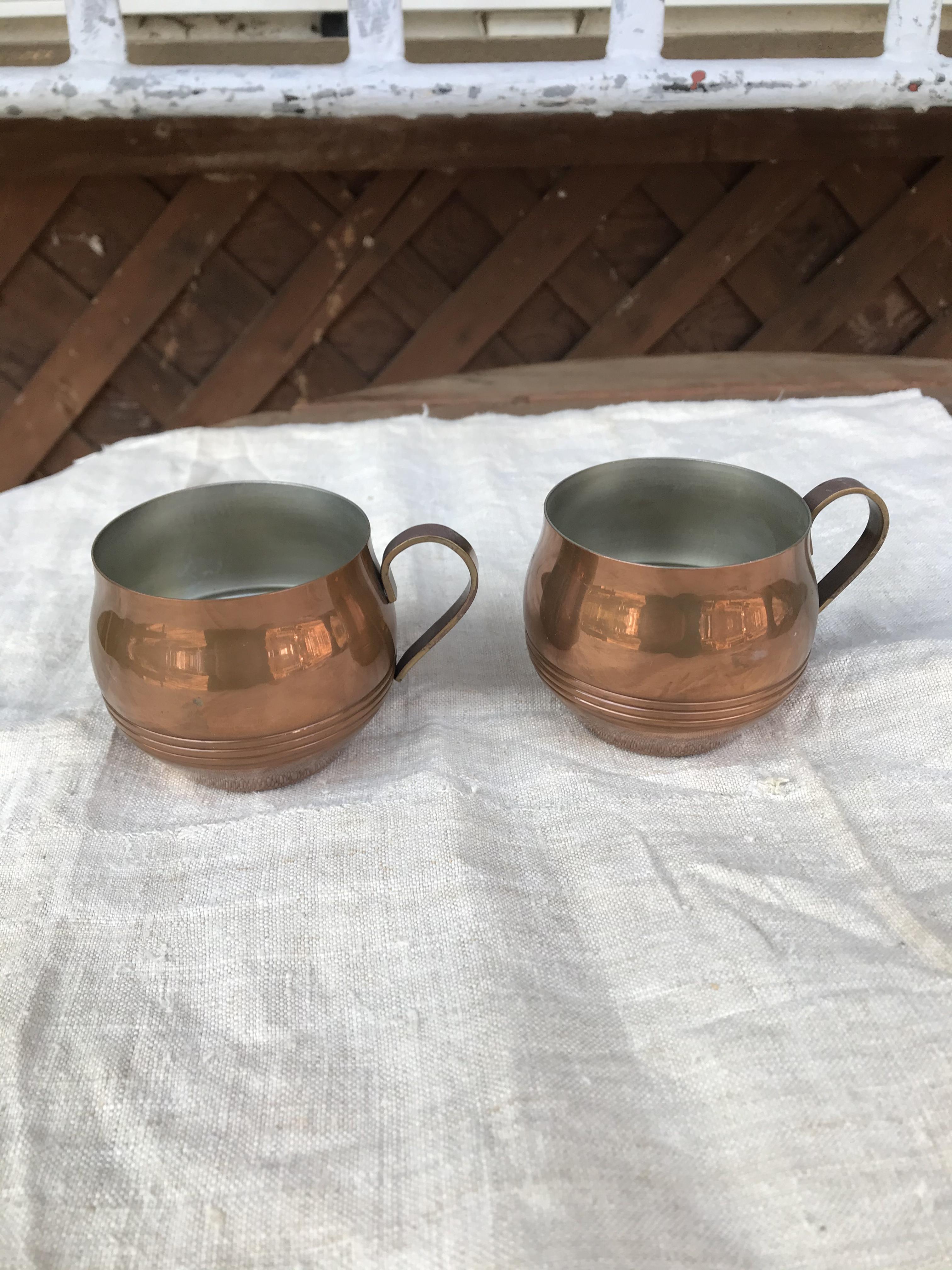 銅製 マグカップ 2個セット