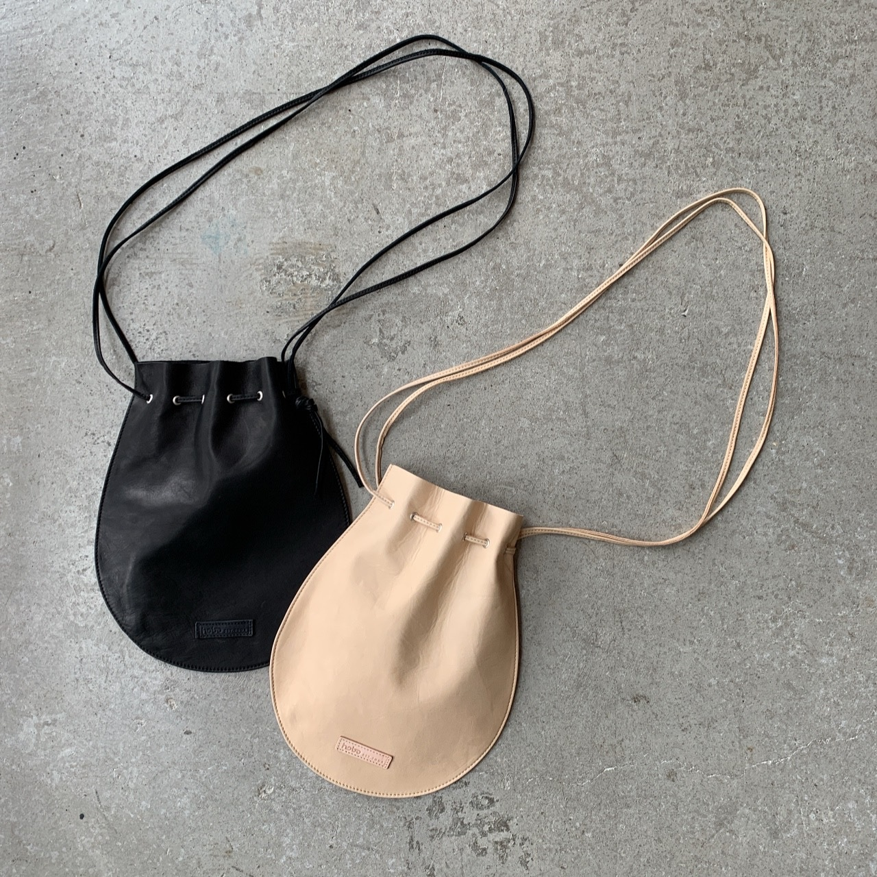 hobo -HORSE LEATHER SHOULDER POUCH