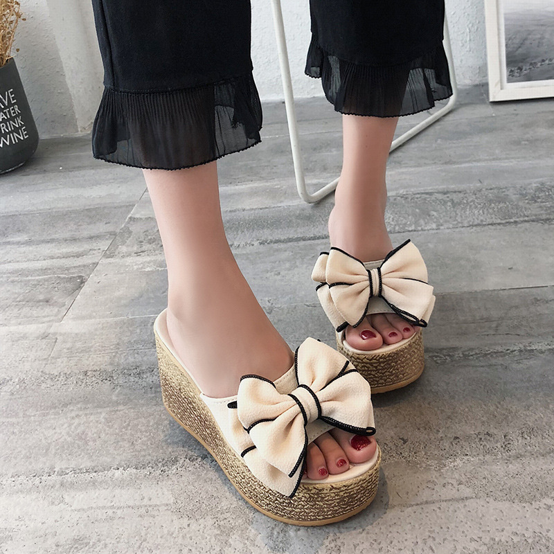 【shoes】ファッションリボン付きサンダル22121836