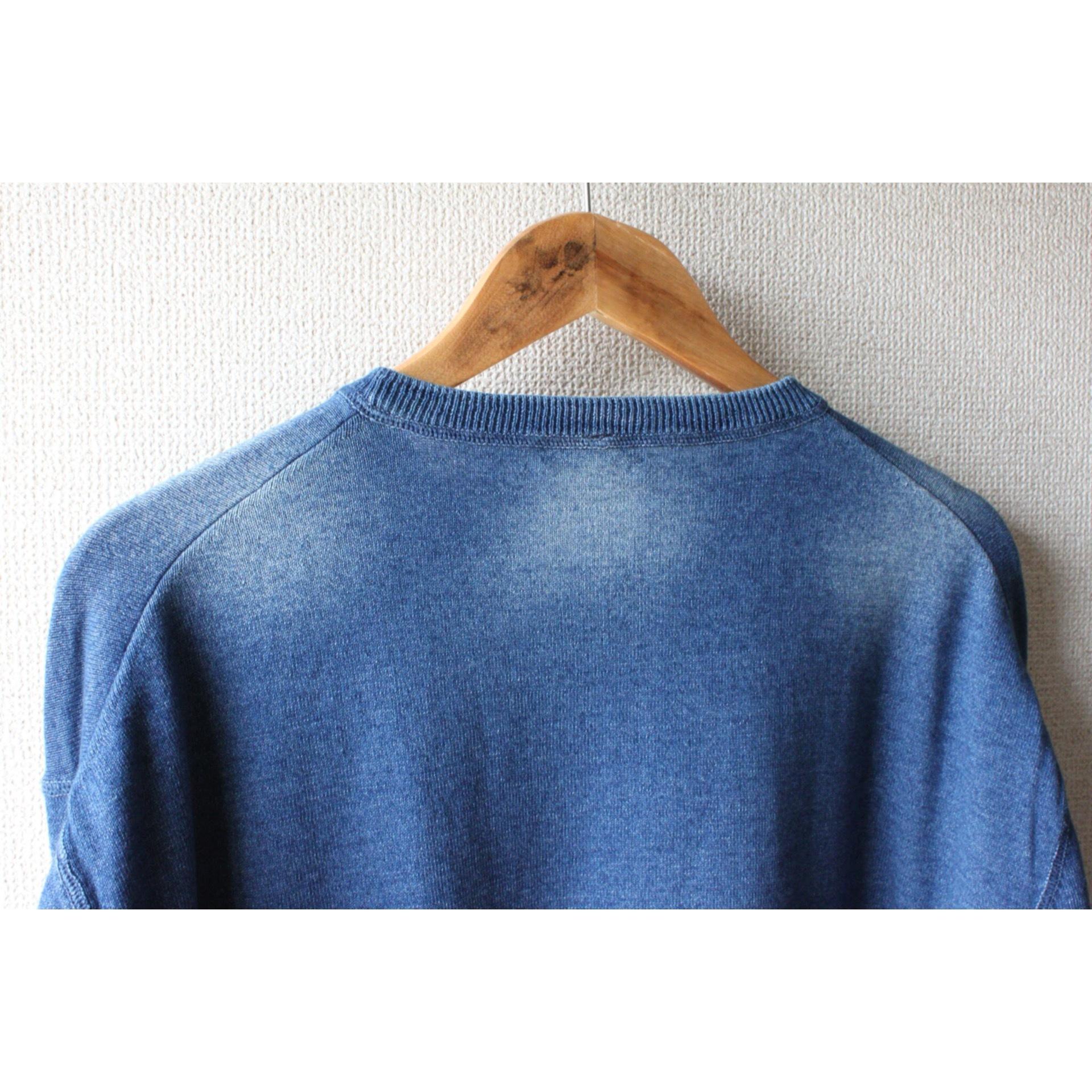 Vintage indigo cut sew