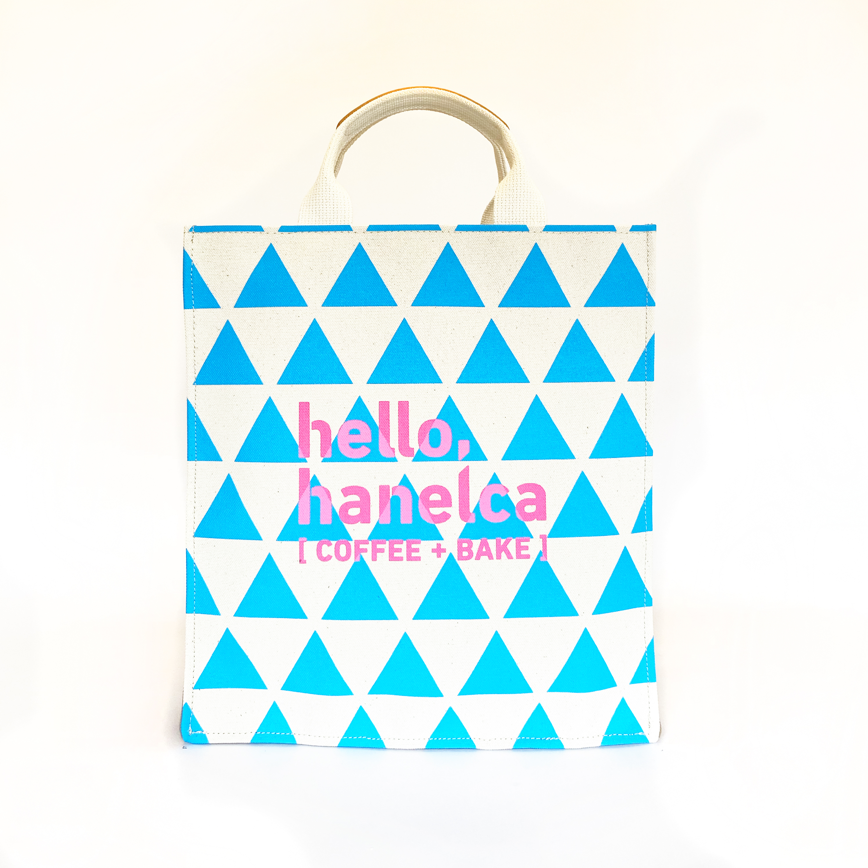 baker's tote / scale x sky   ベイカーズ・トート 空色 x 鱗