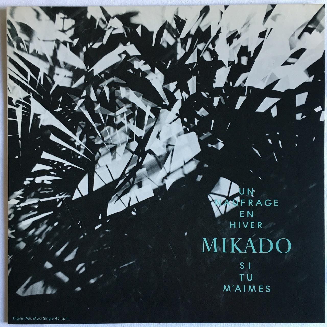 【12inch・国内盤】ミカド / 冬のノフラージュ