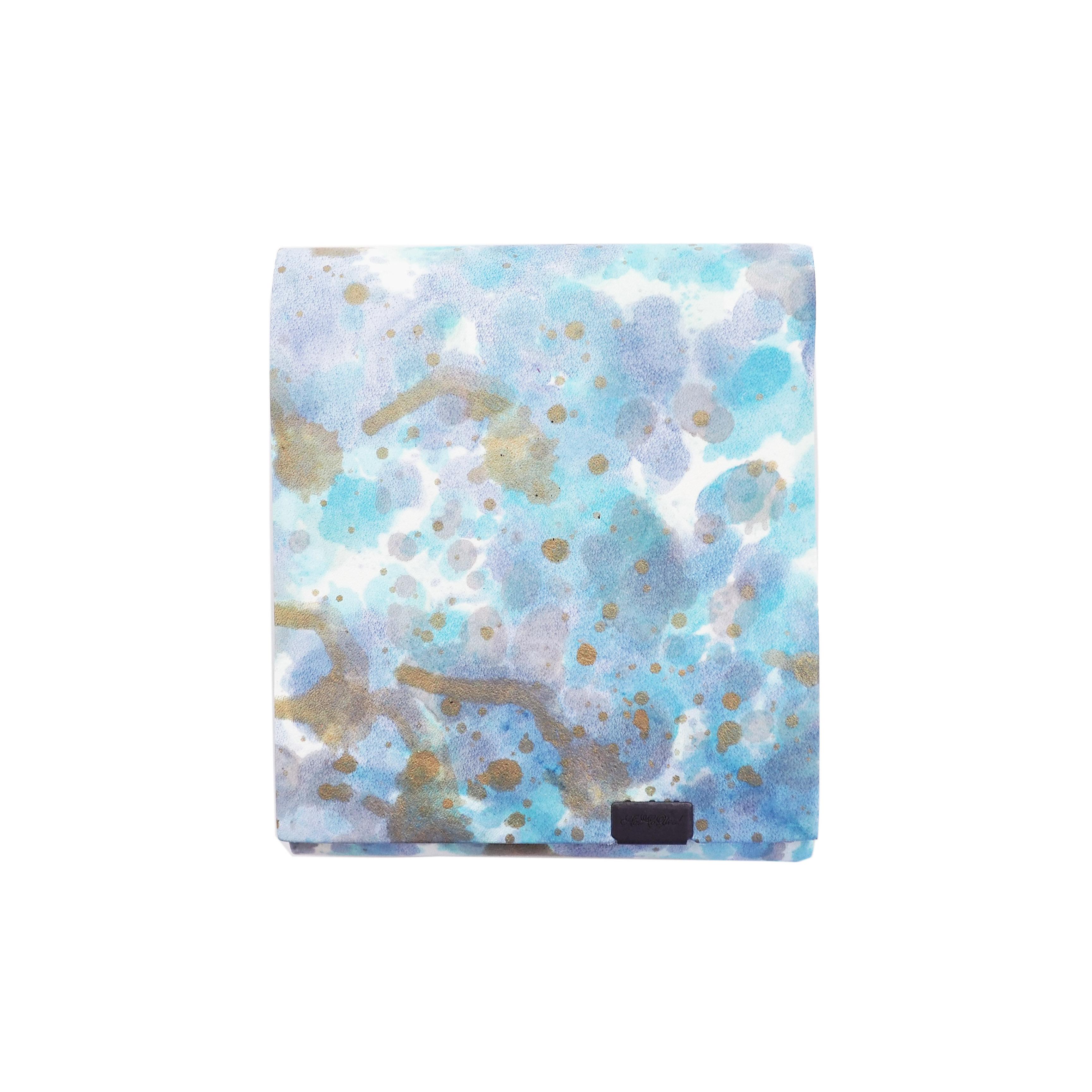 印象派 -ショートウォレット2.0-  ブルー