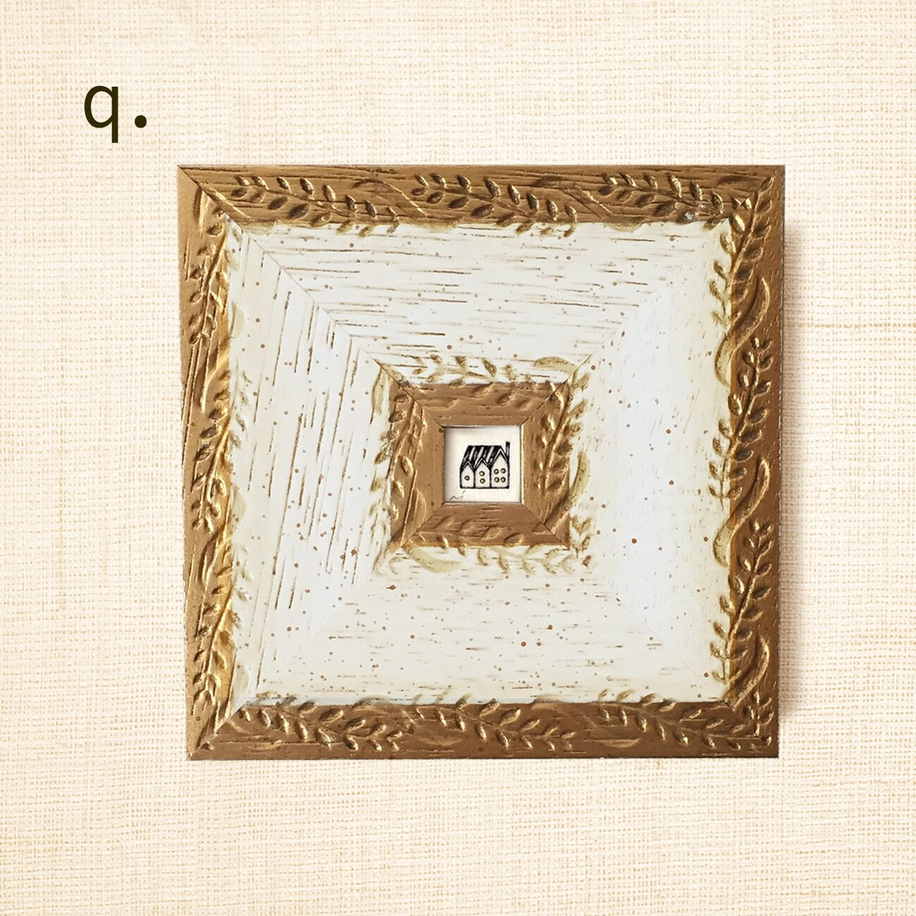 ミニ額縁 原画【 帰る場所 】ご注文者さま・額縁セレクト画像<q>-<z><a#>-<d#>