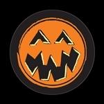 ゴーバッジ(ドーム)(CD0760 - Seasonal Halloween Pumpkin) - 画像1