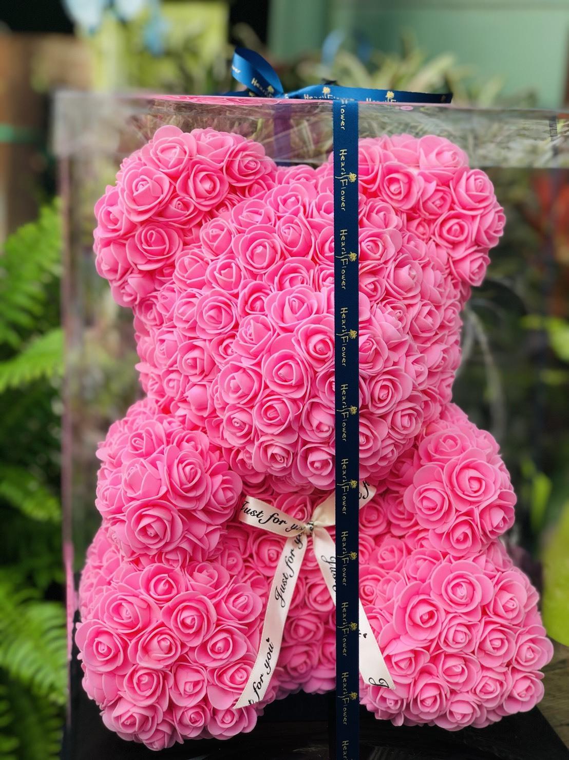 カラフル!くまさん ピンク