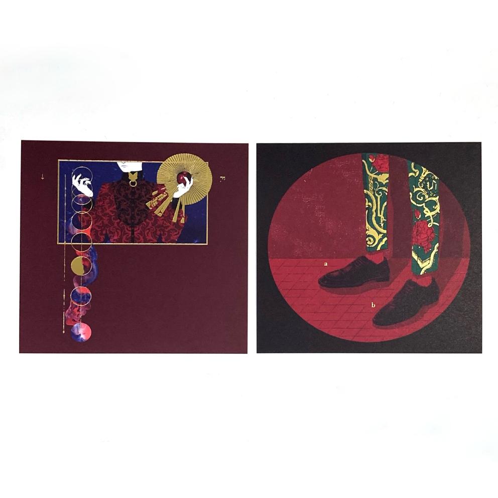 ruff / イラストカード(2種類)