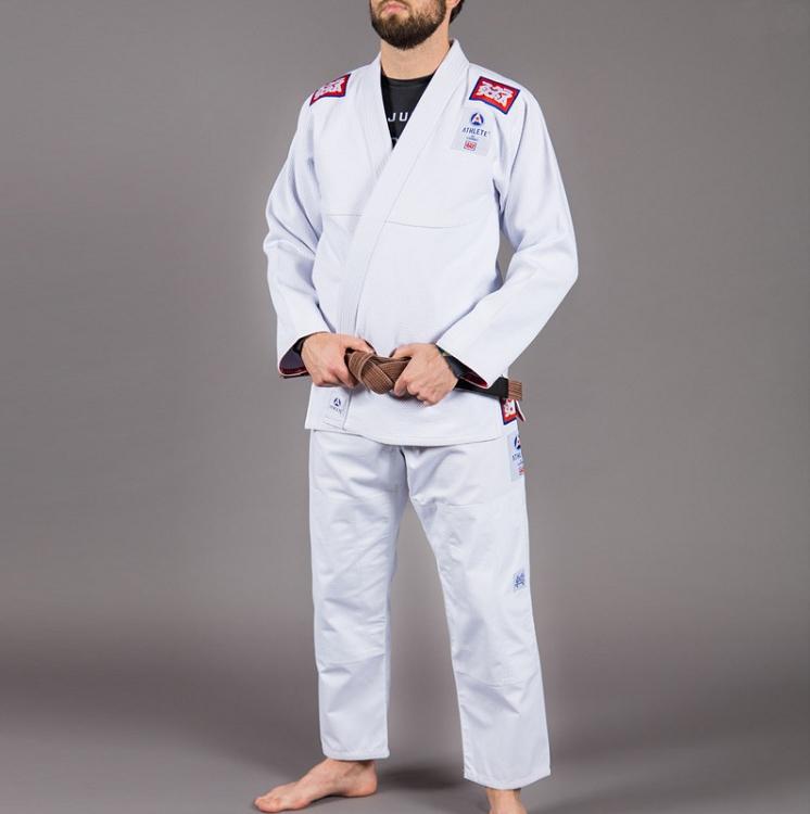 スクランブル 柔術衣 アスリート 2 ホワイト Scramble  Athlete 2 |ブラジリアン柔術衣(柔術着)