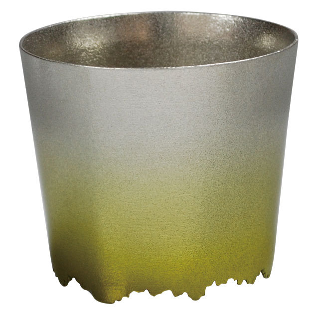 SHIKICOLORS Yellow green Rock Cup