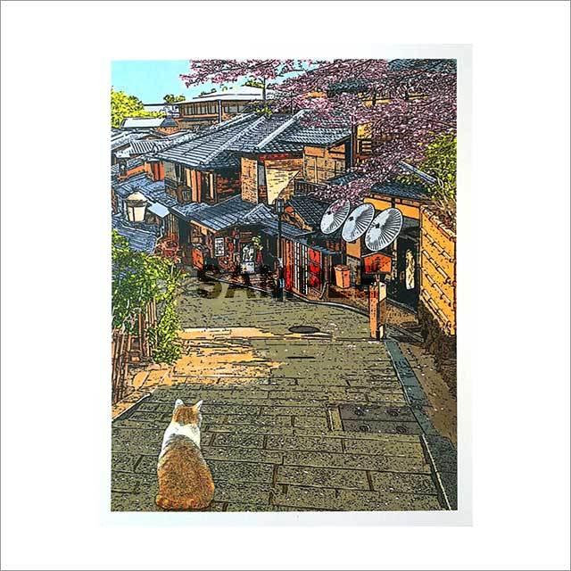 台湾ポストカード 「寧静的幸福時刻」