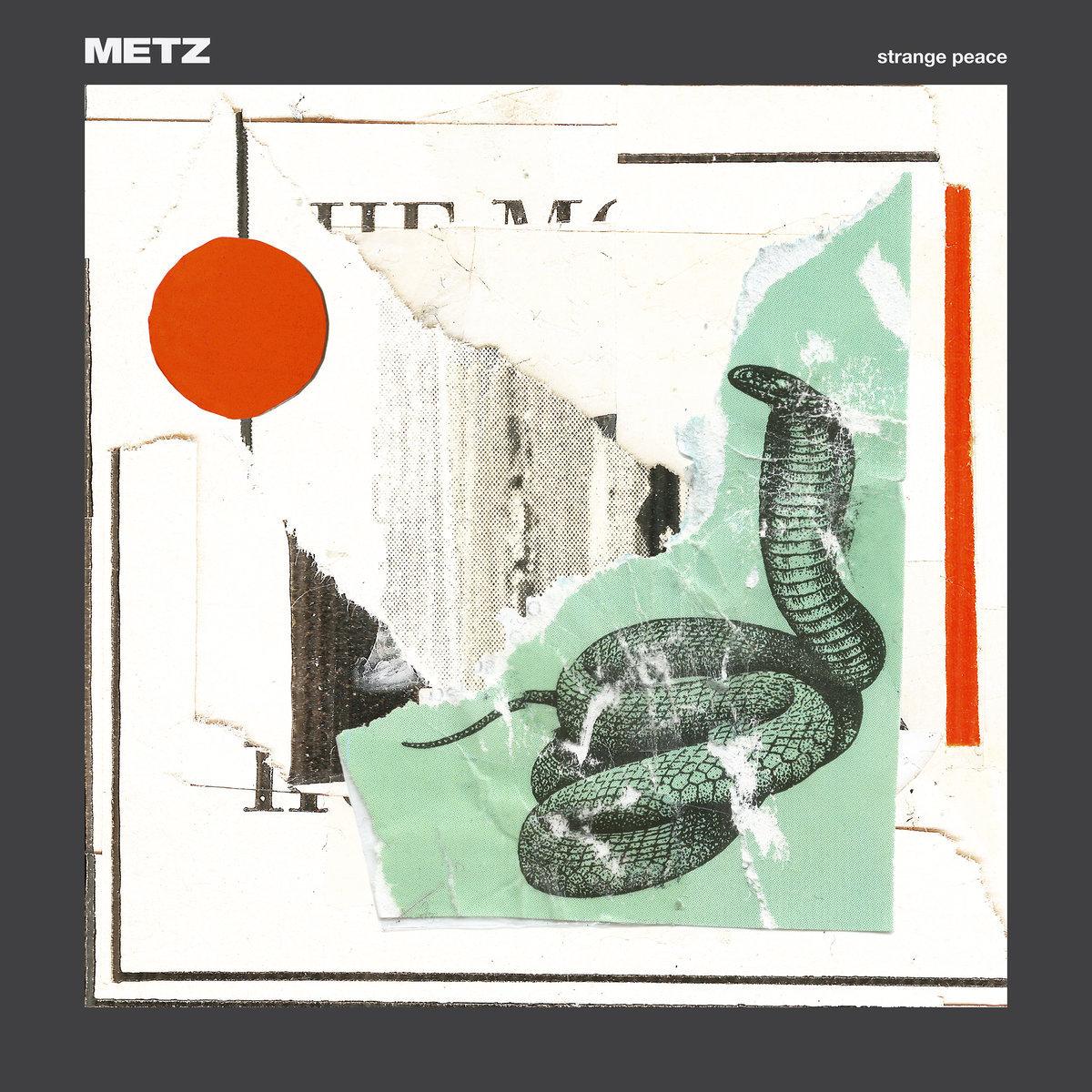 METZ / Strange Peace(LP)