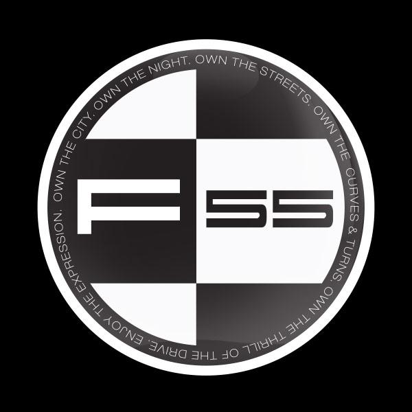 ゴーバッジ(ドーム)(CD0921 - MINI F55) - 画像1